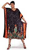 African-Tribal-Warriors-Viscose-Rayon-Caftan-Kaftan-Available-in-Several-Colors