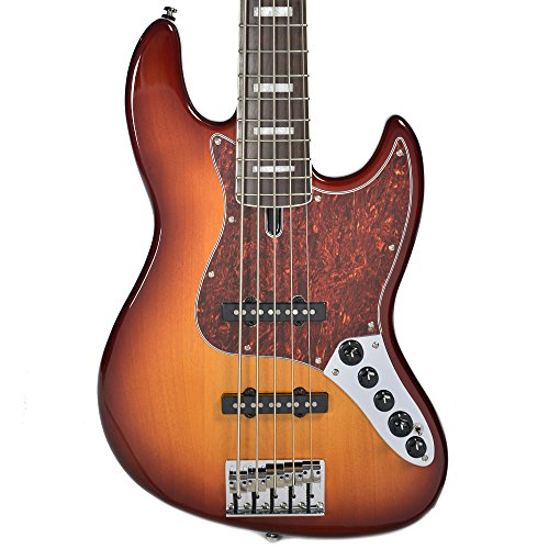 5 String Bass Tobacco Sunburst (Sire Marcus Miller V7 Alder 5 String Bass Tobacco Sunburst)