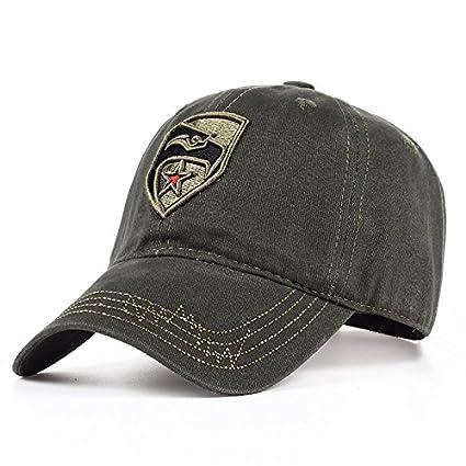 ALWLj New Men s Nylon Hat Camouflage Fashion Solid Color Adjustable Cotton Baseball  Cap Men and Women 2f3ada80ce72