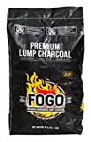 Fogo FB4 FogoB4 Hardwood Lump Charcoal, Small, Black