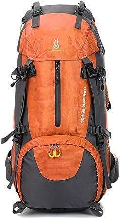 SunDay 60L Resistente al agua con mochila de senderismo Trekking Mochila Bolsa para la escalada, camping, excursiones, viajes y Monta?ismo
