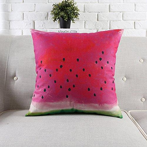 POPRY Personalidad Creativa Preciosa Almohada de algodón ...