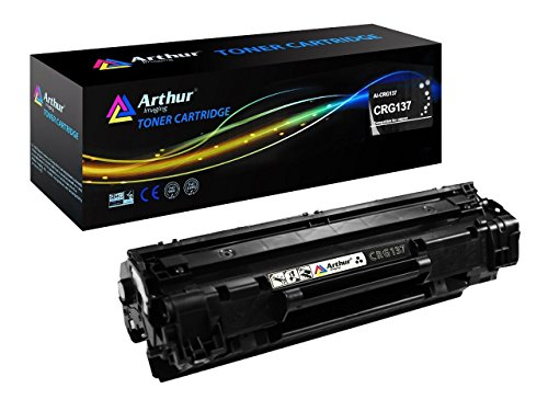 Arthur Imaging Compatible Toner Cartridges Replacement for Canon 137 (Black, 1-Pack)