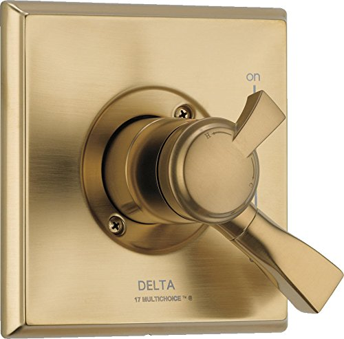 Delta Faucet T17051-CZ Dryden Monitor 17 Series Valve Trim Only, Champagne Bronze