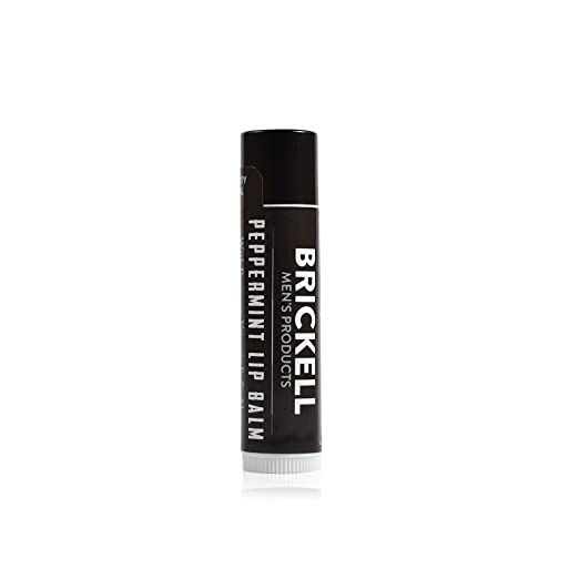 101463e7522 Amazon.com   Brickell Men s No Shine Lip Balm for Men - .15 oz - Natural    Organic   Beauty