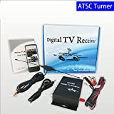 SZSS-CAR HD Car Digital TV Turner ATSC Mobile Digital TV Receiver for USA Canada United States Mexico Korea