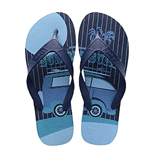 Blue Men's Blue Thong Dupè Sandals twZTqZ17