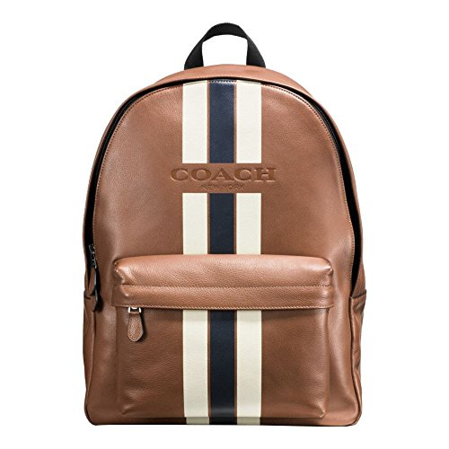 CHARLES BACKPACK VARSITY LEATHER MIDNIGHT