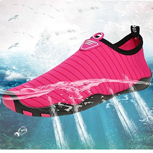 niños de rápido para rosa Zapatillas para playa de agua yoga surf unisex deportivas zapatillas secado Rojo SYYxwqOF5
