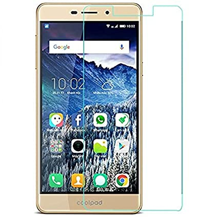 Yunikase Coolpad Mega 2.5D Premium Tempered Glass screen Protector  PACK of 2    Transparent  Screen guards