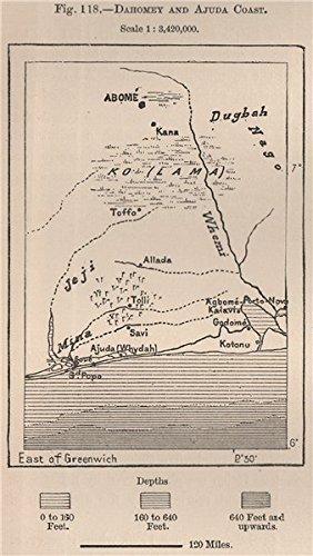 Dahomey (Benin) & Ajuda (Ouidah) Coast. Abomey. Cotonou. Benin ... on