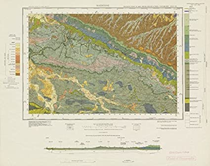 Amazon.com: Maidstone. Geological survey map. Sheet 288 ... on census bureau maps, geological map for flint, topographic survey maps,