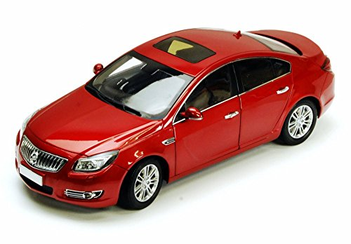 2011 Buick Regal, Red - CSM CSM1060 - 1/18 Scale Diecast Model Toy Car