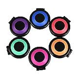 MSmask Professional 6 Colors Temporary Hair Chalk Set DIY Hair Styling Hair Dye Powder