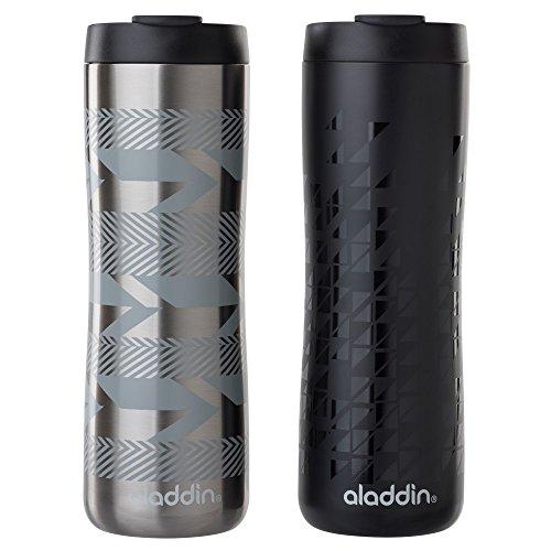 Aladdin Vacuum Insulated Stainless Steel Mug, 16oz, Silver S
