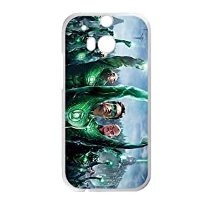 New Style Custom Picture Green Lantern Design Best Seller High Quality Phone Case For HTC M8