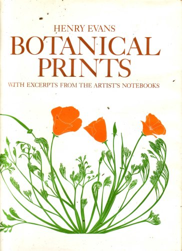 Botanical Prints (With Excerpts From The Artist's Notebooks)