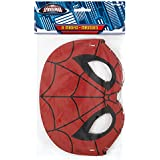 Spiderman Party Masks, 8ct