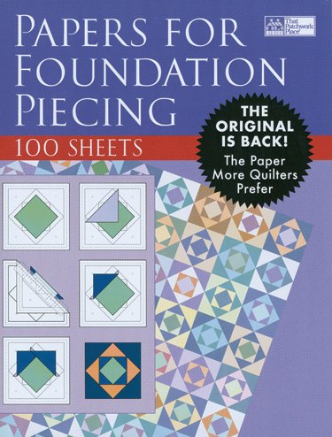 Foundation Paper-8-1/2''X11'' 100/Pkg 1 pcs sku# 644467MA by Martingale