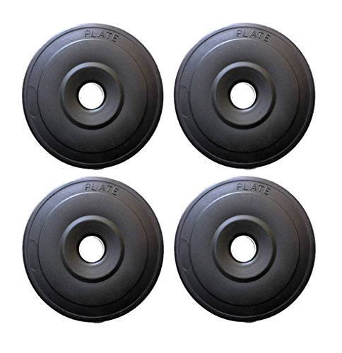 L'AVENIR Fitness PVC Weight Lifting Platess