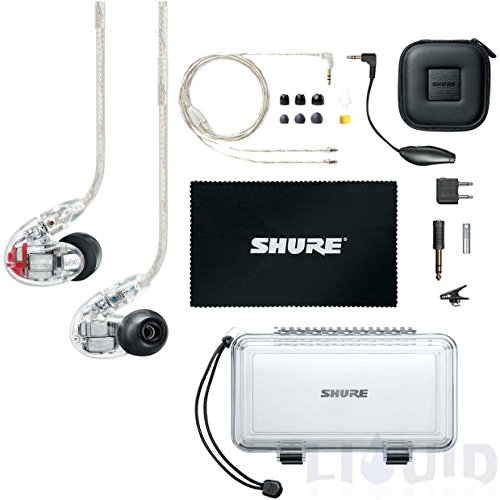 Shure SE846-CL Sound Isolating Earphones with Quad HiDef MicroDrivers, Crystal Clear ヘッドホン(イヤホン)【並行輸入品】 B00RK4DHR2