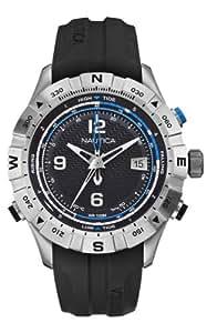 Nautica A21032G - Reloj de cuarzo para hombres, color negro