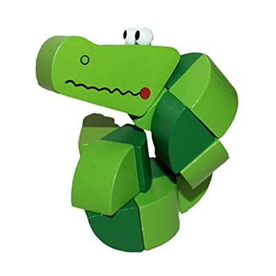 Nothing but Quality: Wiggling Worm Grasping Toy: Toys & Games