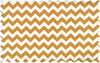 product image for SheetWorld Gold Chevron Zigzag Fabric - By The Yard