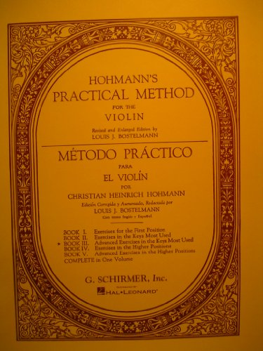 (Practical Method for the Violin - Book 3)