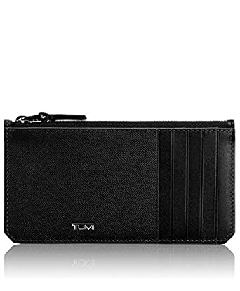 tumi mens mason long zip card holder black one size - Zip Card Holder