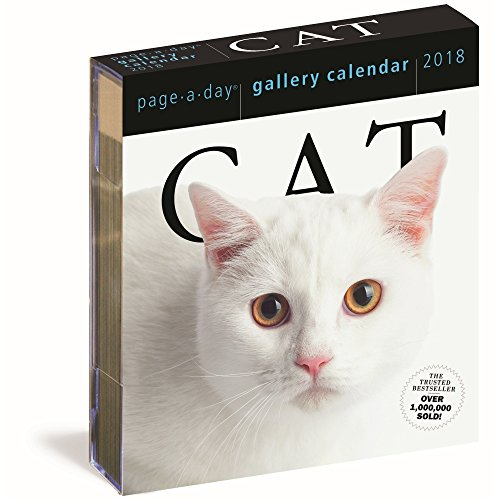Cat 2018 Page-A-Day Gallery Calendar