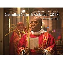 Anglican-Lutheran Canadian Church Calendar 2018