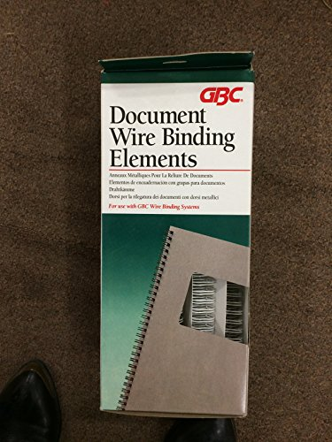 Gbc Binding Wire Elements - GBC Office Products GroupWire Binding Spines, 9/16