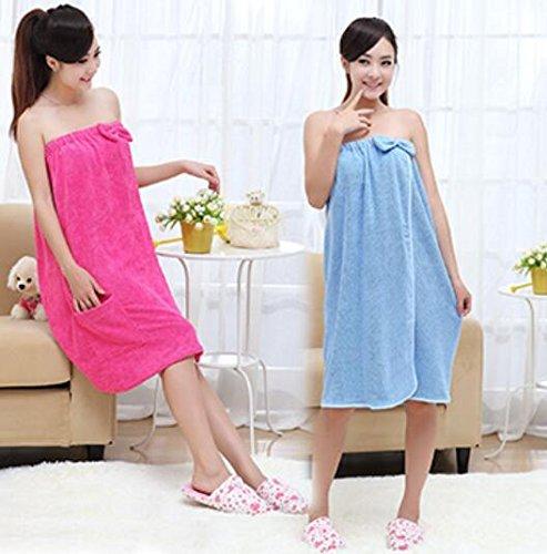 Ad Rossa Assorbente Asciugamano Da Asciugatura Rapida In Donne rosa Microfibra Bagno Vestito A0PqxFw