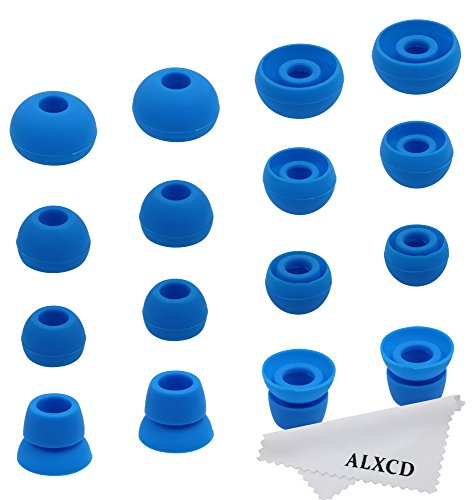 ALXCD Ear Tips for Powerbeats 2 Wireless Headphone, SML 3 Si