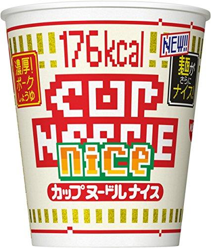 닛신 NISSIN 컵라면 닛신 컵 누들 나이스 농후! 포크 간장 57g×12개