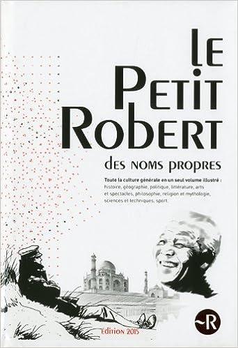 Lire PETIT ROBERT NOMS PROPRES 2015 epub, pdf