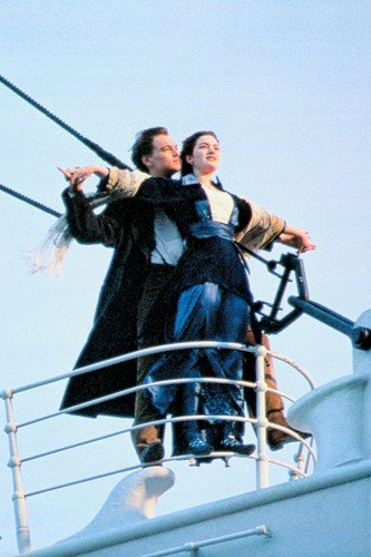 leonardo dicaprio kate winslet 24x36 poster titanic
