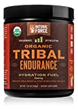 Organic Tribal Endurance Supplement - *Best Electrolytes Powder for Hydration* - Chia Seeds and Trace Minerals from Pink Himalayan Sea Salt for a Natural Electrolyte Drink by Natural Force, 7.34 Ounce