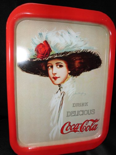 Coca-Cola Serving Tray - Reproduction of - Vintage Coca Cola Tray Shopping Results