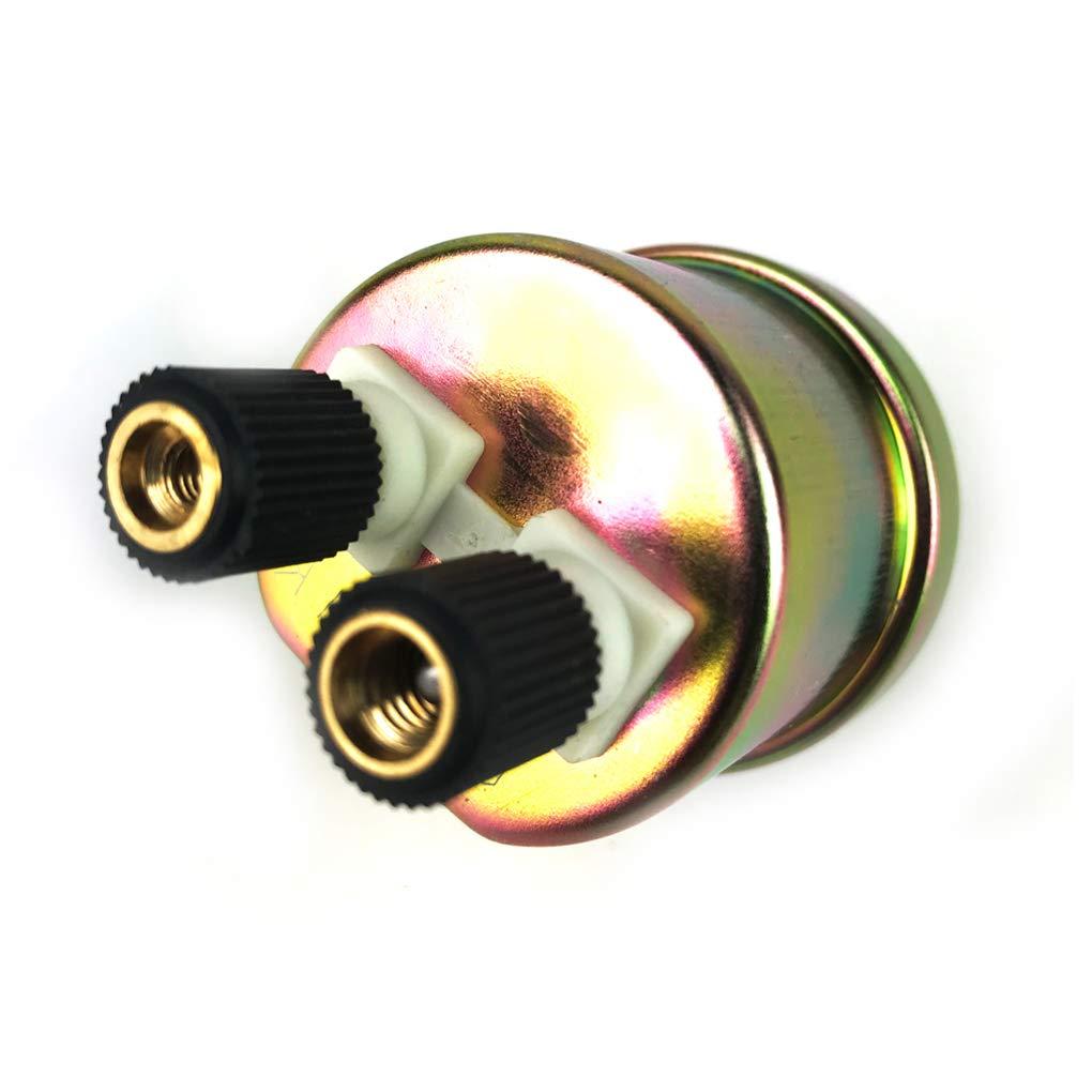 Luckiests 1//8 NPT 80x40mm Interruptor Medidor Sensor de presi/ón de Aceite del Motor remitente Env/ío de Sensor de presi/ón Unidad 0-1.0Mpa Coche