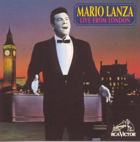 Mario Lanza Live from London by RCA Legacy (Image #1)