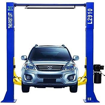 Amazon quickjack 5175376 bl 5000slx car lift automotive 9000 lb over head l 2910 2 post lift car auto truck hoist 12 month warranty fandeluxe Gallery