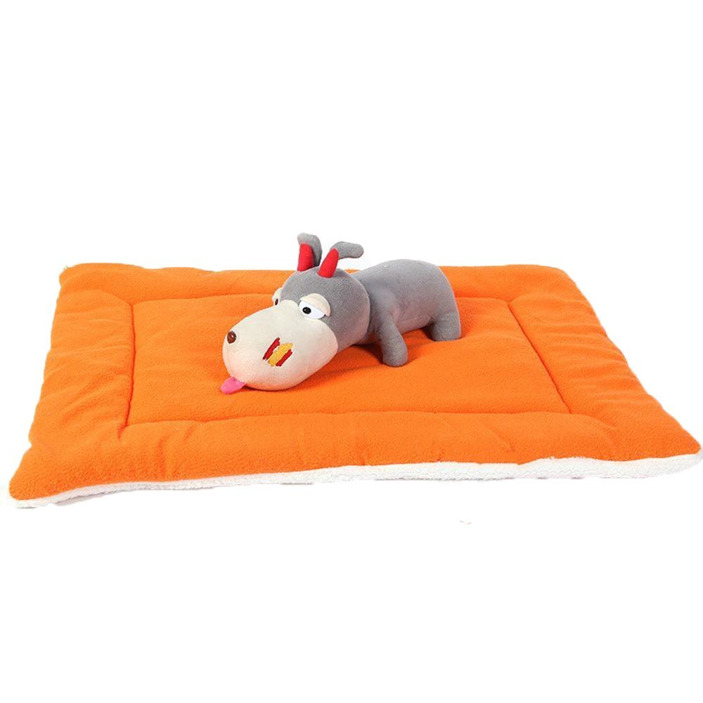 A 6949 A 6949 Lozse Pet Beds Candy color Lamb Plush pet mat cat dog Cat Cushion for Dogs and Cats Sleeping Cushion