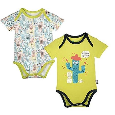 Lot de 2 bodies manches courtes bébé garçon Pablo - Taille - 3 mois ... a5264e91e01