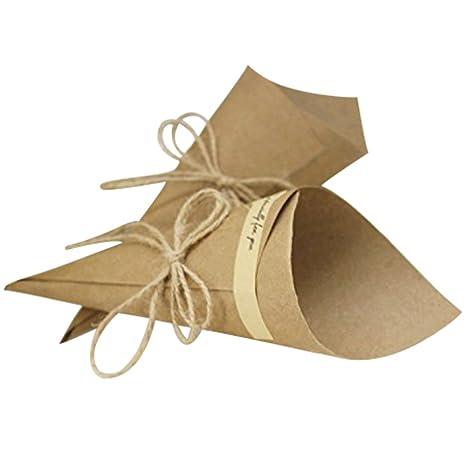 Matrimonio Tema Origami : Pz cono coni festa matrimonio tema naturale materiale fai da te