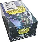 Dragon Shield Matte Slate Standard Size Card Sleeves Display Box [10 Packs]