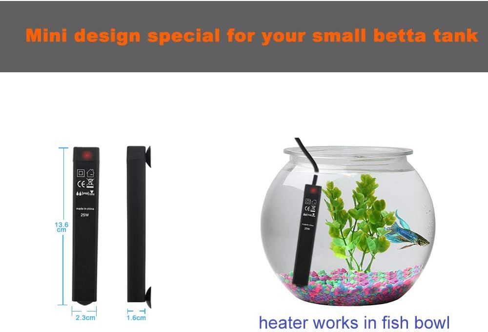 very small aquarium heater