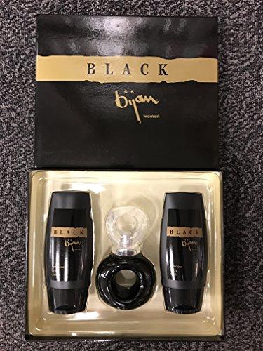 - BIJAN BLACK 2.5 EDT 3PC SET SPRAY WOMEN