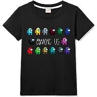 Among Us Camisetas De Verano 100% Algodón para Niña